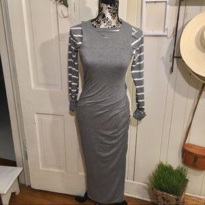 Banana Rebublic Dress - body contour S gray